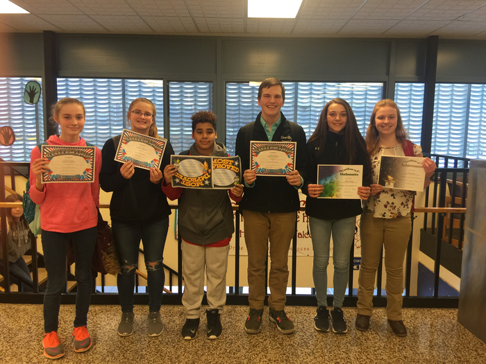 Middle School Mid-Year Awards